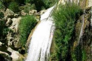 Samirom waterfall, beautiful bride Zagros