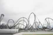 The largest and fastest roller coaster amusement park