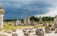 Circulation in the stone forest in Bulgaria